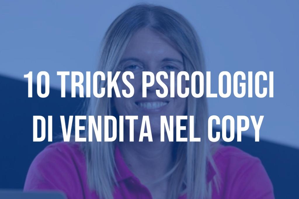 10 Tricks Psicologici di vendita nel copy